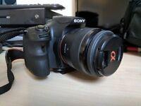 DSLR Sony A58, 2 Lenses & Tripod