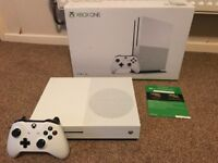 2TB Xbox One S Limited Edition Console - 4K UHD Blu-Ray Player - Boxed In Excellent Condition