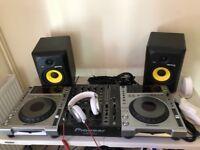 Dj equipment pioneer cdj 850, djm 700, Krk rp6 g3