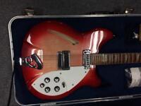 Rickenbacker 12 string cased