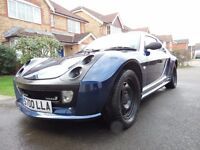 Smart Roadster Brabus Bluewave With Extras. Private Plate Included. Very Good Condition!!!