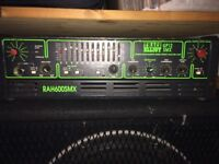 Trace Elliot Amp Head 2 x 600 watt AH600SMX/GP12SMX Classic