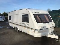 Elddis Crusader Superstorm Twin Axle Double Dinette 4 Berth Touring Caravan 2001