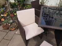 Rattan Garden or Conservatory Cube Set