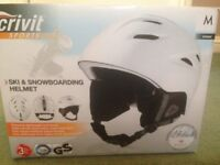 BARGAIN CRIVIT SPORTS SKI/SNOWBOARDING HELMET ADULT SIZE MEDIUM