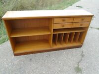 Retro Teak Sideboard / Media Centre Good Condition Delivery Available