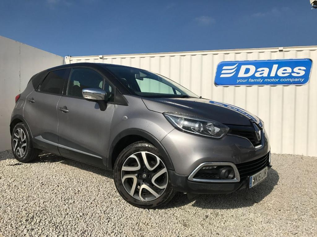 renault captur dynamique s nav 1 5 dci 90 diesel oyster with black roof 2015 in redruth. Black Bedroom Furniture Sets. Home Design Ideas