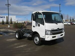 2017 Hino 195-144 Cab/Chassis only