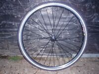 Mavic CXP 22 Front wheel with Infinity 700x32 tyre