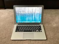 APPLE MACBOOK AIR 13.3'' MD760BA, 2014 MODEL, CORE i5, 128gb SSD, EXCELLENT CONDITION, MAY SWAP