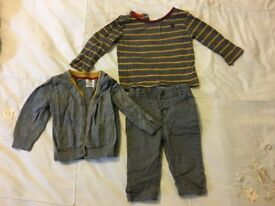 Mamas and Papas outfit size 3 - 6 months (three to six bundle)