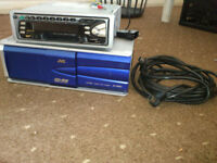 jvc stereo 12 disc changer and lead bargain £15 postage possible
