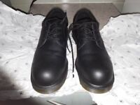 doc martins steel toe cap boots, size 8. worn once.