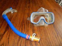Tusa Diving Mask & Snorkel