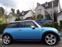 (2005) MINI COOPER S Chilli ELECTRIC BLUE GENUINE 60K MILES, FULL MINI HISTORY, MASSIVE FACTORY SPEC