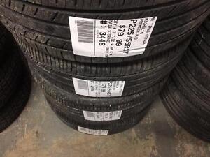 225/55/17 Michelin Premier A/S *Allseason Tires*