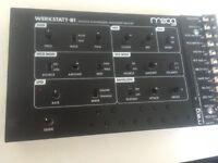 MUST SELL ASAP - MOOG WERKSTATT Amazing Analog Synth, with CV Expander