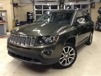 2015 Jeep Compass LIMITED.4X4.CUIR.TOIT OUVRANT.SIÈGES CHAUFFANT