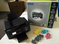 Epson WorkForce WF-2630 Compact 4-in-1 Printer with Wi-Fi and features