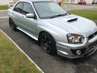 Subaru Impreza blob eye 2003 swap for type r plus cash