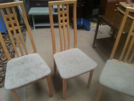 3 the same mcentosh style chairs