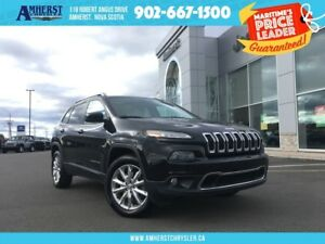 2014 Jeep Cherokee LIMITED 4X4 - LEATHER, SUNROOF,