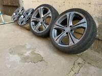 "18"" ALLOYS FOR SALE VW AUDI SEAT 5x100 SKODA CELICA TOYOTA"