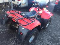 Suzuki Eiger 400 4x4 2005 huge quad go any where not big red raptor blaster klf