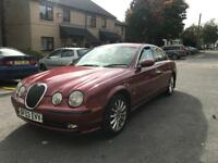2003 03 JAGUAR S TYPE 3.0 V6 SE AUTO 250bhp CREAM LEATHERS FSH IMMACULATE MUST SEE BARAGIN