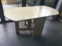 foldable dining table 6 chairs