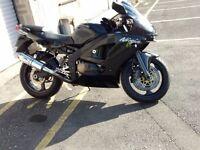 Kawasaki zx6r j2 600cc