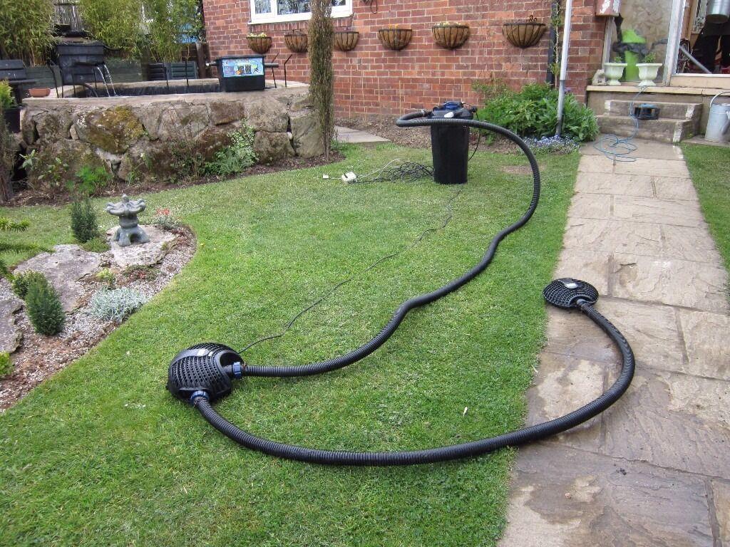 Koi pond oase filtoclear 15000 pressure filter uv for Uv pond filters for sale