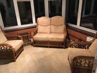 Conservatory furniture set excellent condition as new