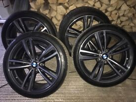 "19"" BMW alloys(mint condition)"