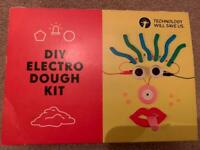 """Technology Will Save Us """"DIY"""" Electric Dough Kit for kids"""