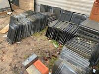 Reclaimed 200 used stonewold roof tiles £25 thelot