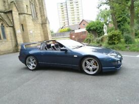 NISSAN 300ZX TWIN TURBO CONVERTIBLE MANUAL 94000 part service history