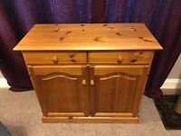 Pine Sideboard Table