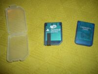 Playstation 2 Memory Cards