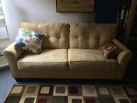 Couch and chaise lounge for sale