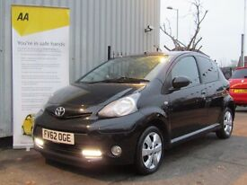 Toyota Aygo 1.0 VVT-i Fire 5dr, ideal first car,low mileage
