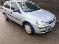 Vauxhall Corsa 1.0 i Life 5door LONG MOT, 12 Months MOT, 2004 (04 reg), Hatchback