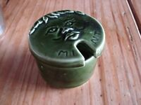 Bassware Pottery Mint Pot with Lid