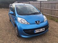PEUGEOT 107 1.0 12V URBAN 5DR 2008 * IDEAL FIRST CAR * CHEAP INSURANCE*ONLY £20 ROAD TAX* HPI CLEAR