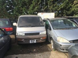 TOYOTA HI-ACE 1996- FOR PARTS ONLY