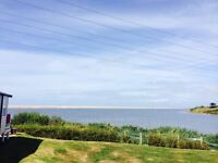 3 bedroom luxury caravan for sale on stunning sea view pitch just in Weymouth Dorset