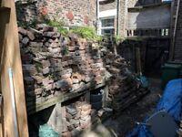 Old bricks approx 1 - 2 pallet loads