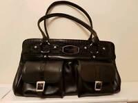 Ladies Black leather purse (hand bag)