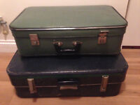 Vintage suitcases - Two suitcases £20