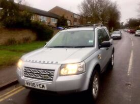 2008 LAND ROVER FREELANDER 2 SE TD4 2.2 4X4 LEATHER SAT NAV